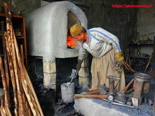 تاریخچه آهنگری