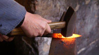 تصویر از مواد اولیه آهنگری