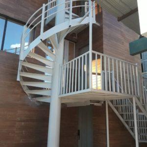 نمونه ساخت پله